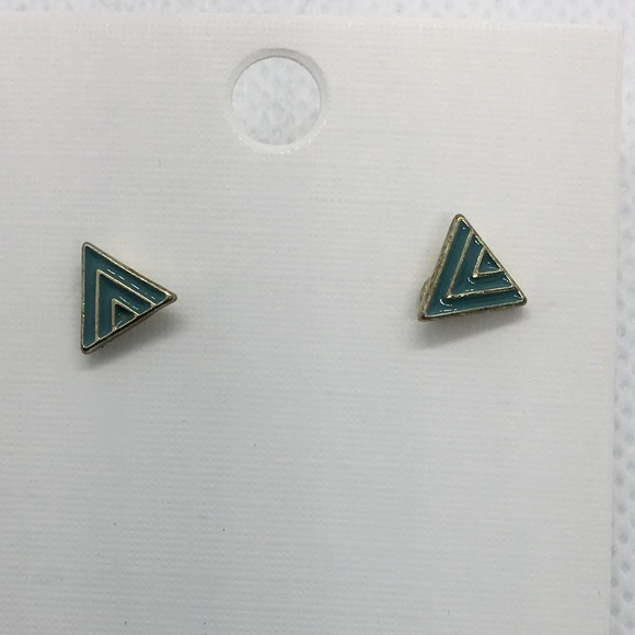 Jewelry - 4 for $12: Simple Triangle Studs